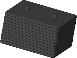 Weight blocks from ROEQ for Mir100 and MiR200