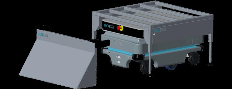 ROEQ RB100 rack base - for Mir100 end Mir200 - STEP 1