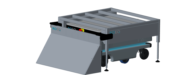 ROEQ RB100 rack base - for Mir100 end Mir200 - STEP 2