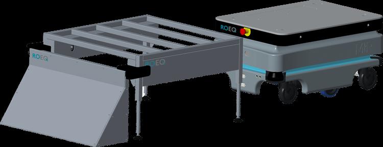 ROEQ RB100 rack base - for Mir100 end Mir200 - STEP 3