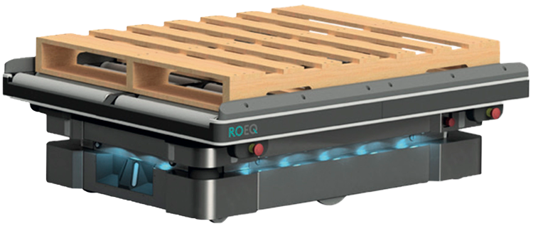 TR1000 - Top Roller ROEQ MiR1000 can deliver us pallets
