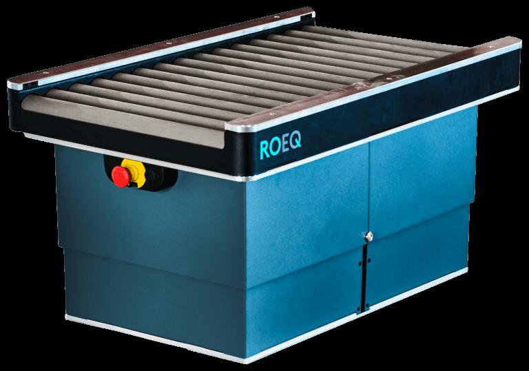 TR125 für MiR250 – Rollenförderer von ROEQ