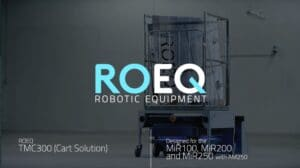 Watch video showing our Docking Stations working with our Cart solutions for MiR robots